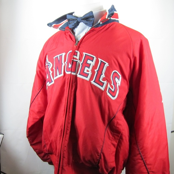 Angels Other - Angels Los Angeles Men Jacket L Majestic Authentic